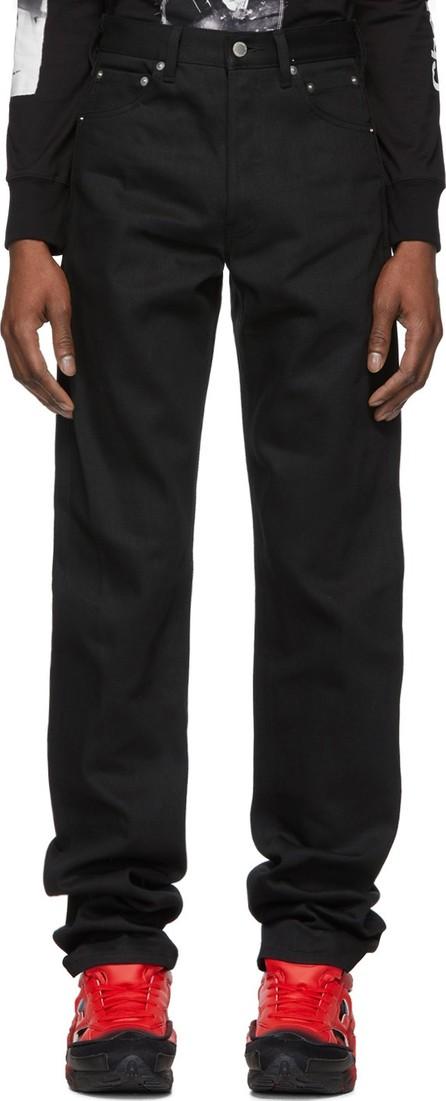 Takahiromiyashita The Soloist Black 'X' Pocket Jeans