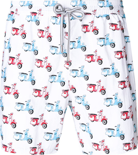 Capricode Scooter print swim shorts