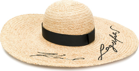 Karl Lagerfeld Embroidered logo hat