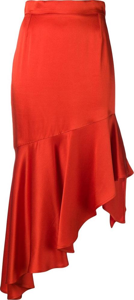 Semicouture Asymmetric ruffle skirt