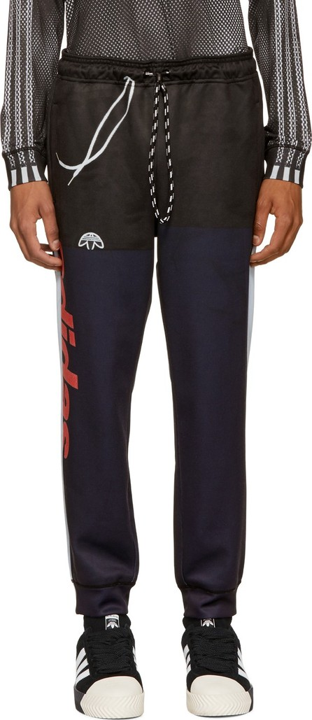 Adidas Originals by Alexander Wang Navy & Black Photocopy Lounge Pants