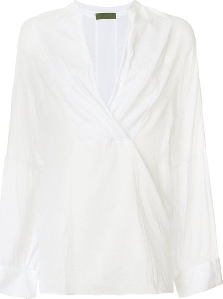 Di Liborio V-neck flared tunic