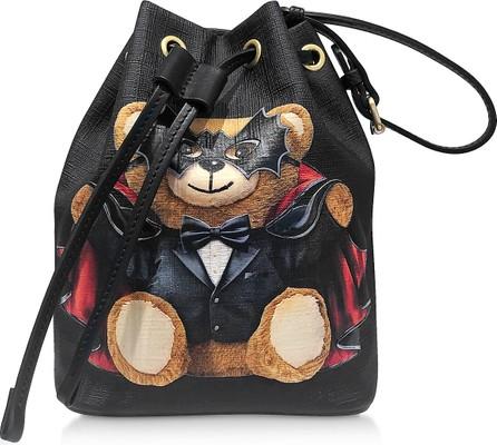 Moschino Teddy Bear Mini Bucket Bag