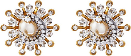 Erickson Beamon 'Delicate Balance' Swarovski crystal starburst stud earrings