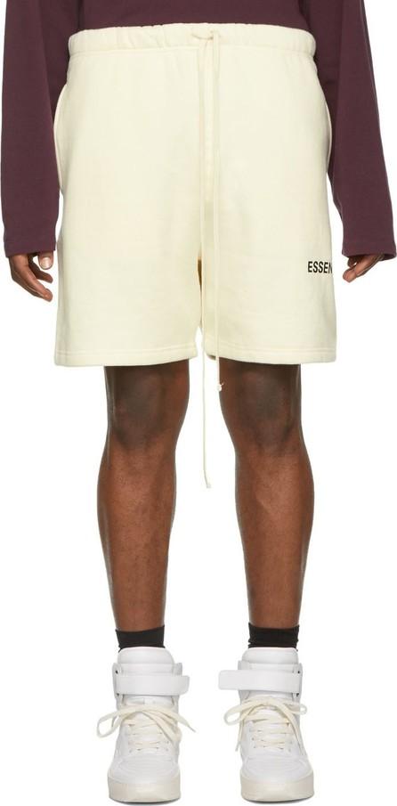 Essentials Off-White Fleece Shorts