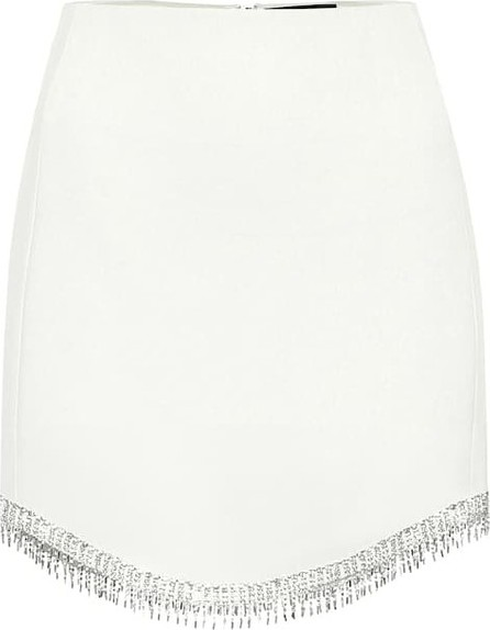 David Koma Embellished high-rise miniskirt