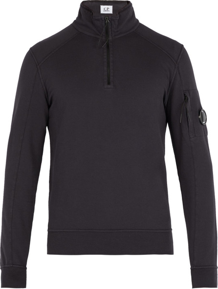 C.P. Company High neck cotton sweatshirt