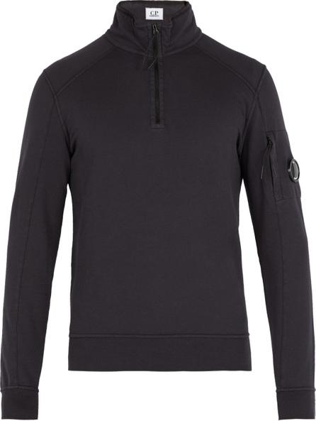 C.P. Company High neck cotton sweatshirt