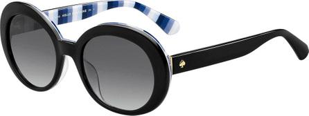 Kate Spade New York cindras gradient oval sunglasses