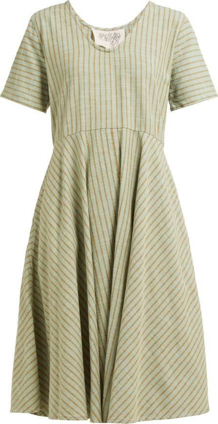 ace&jig Luella striped cotton dress