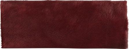 Allison Mitchell Large Framed Fur Clutch Bag