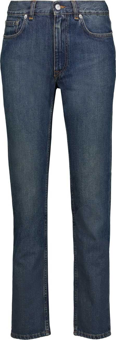 Acne Studios Novel mid-rise straight-leg jeans
