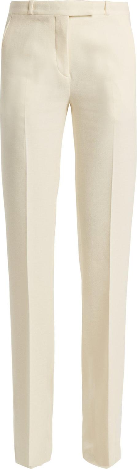 Etro Fuji wool-crepe trousers