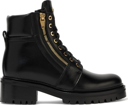 Balmain Army leather ankle boots