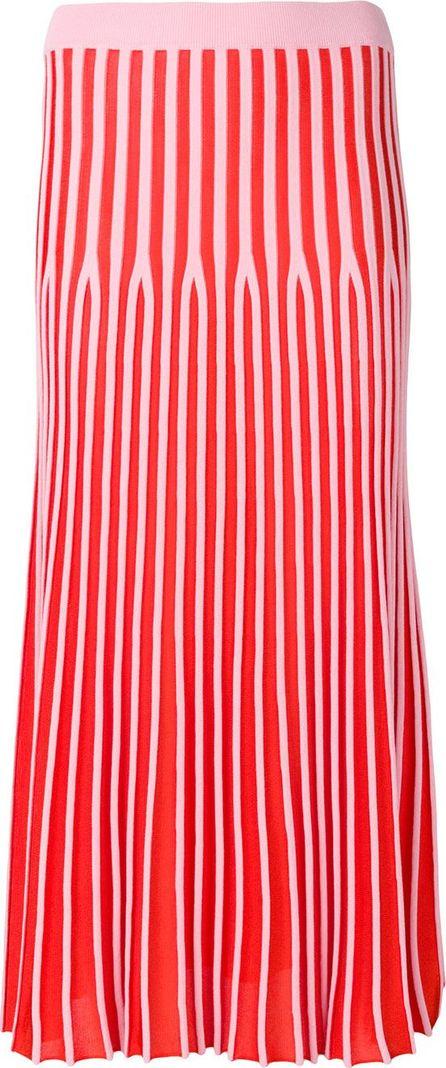 KENZO Striped pleated skirt