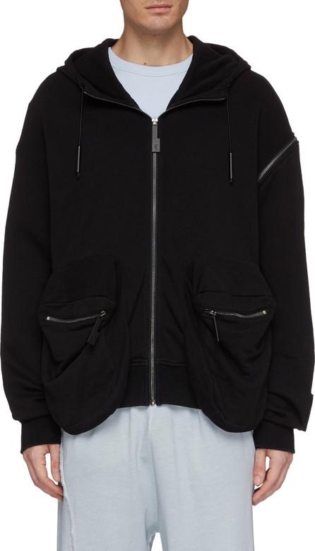 A-Cold-Wall* Zip shoulder hoodie
