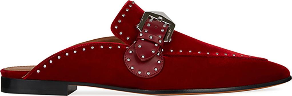 e104db56631 Givenchy Elegant Studded Velvet Loafer Mule - Mkt