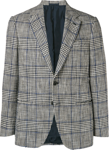 Caruso Houndstooth check jacket