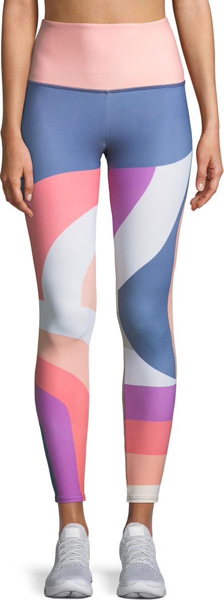 ONZIE High-Rise Printed Performance Leggings