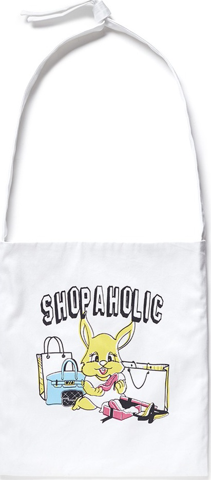 Ground-Zero Shopaholic' shopping tote