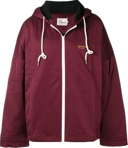 Drôle De Monsieur Printed hooded jacket