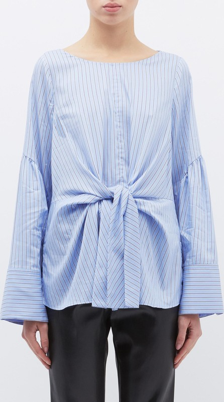 3.1 Phillip Lim Tie front stripe top