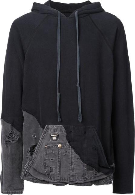 Greg Lauren Hybrid hoodie