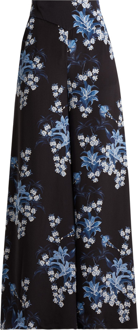 Johanna Ortiz Dream State printed silk-crepe trousers
