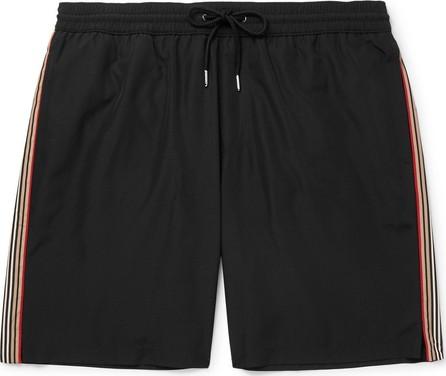 Burberry London England Mid-Length Striped Shell Swim Shorts