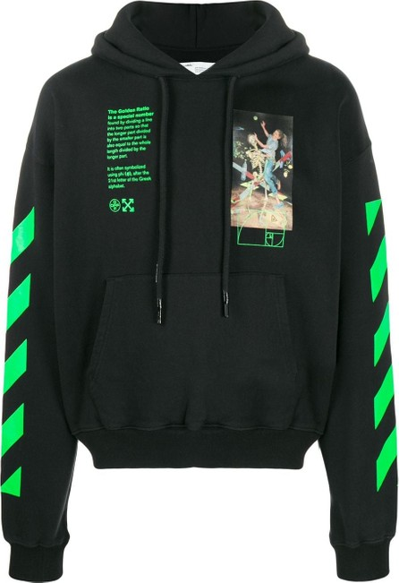 Off White Pascal Painting-print hoodie