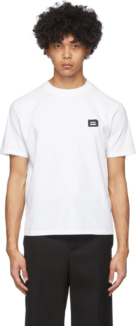 Botter White Embroidered 'B' T-Shirt