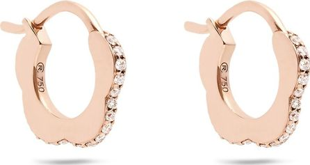 Raphaele Canot Happy Deco diamond & rose-gold earrings