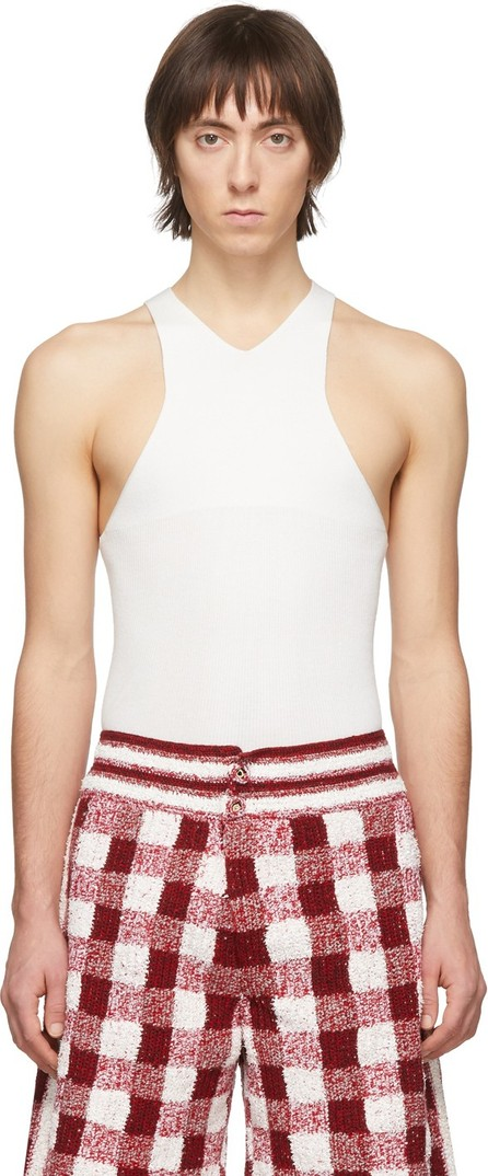 Judy Turner White Barcelona Tank Top