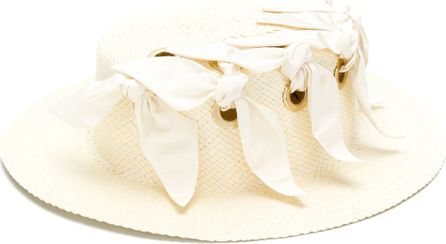 Federica Moretti ribbon detail hat