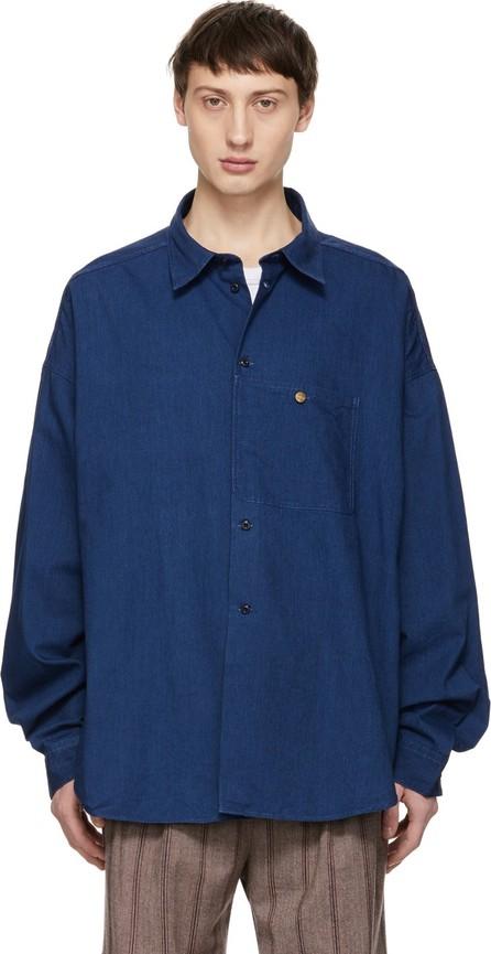 Acne Studios Blue Blå Konst Glanni Shirt