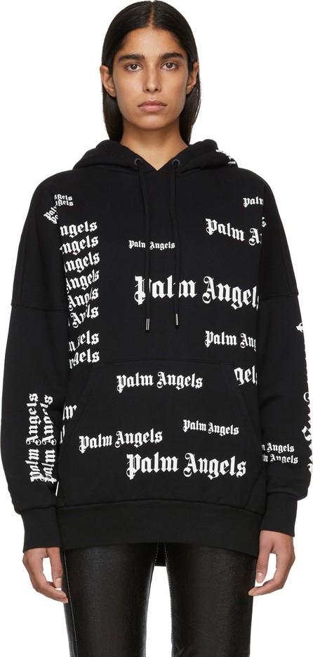 Palm Angels Black Ultra Logo Over Hoodie