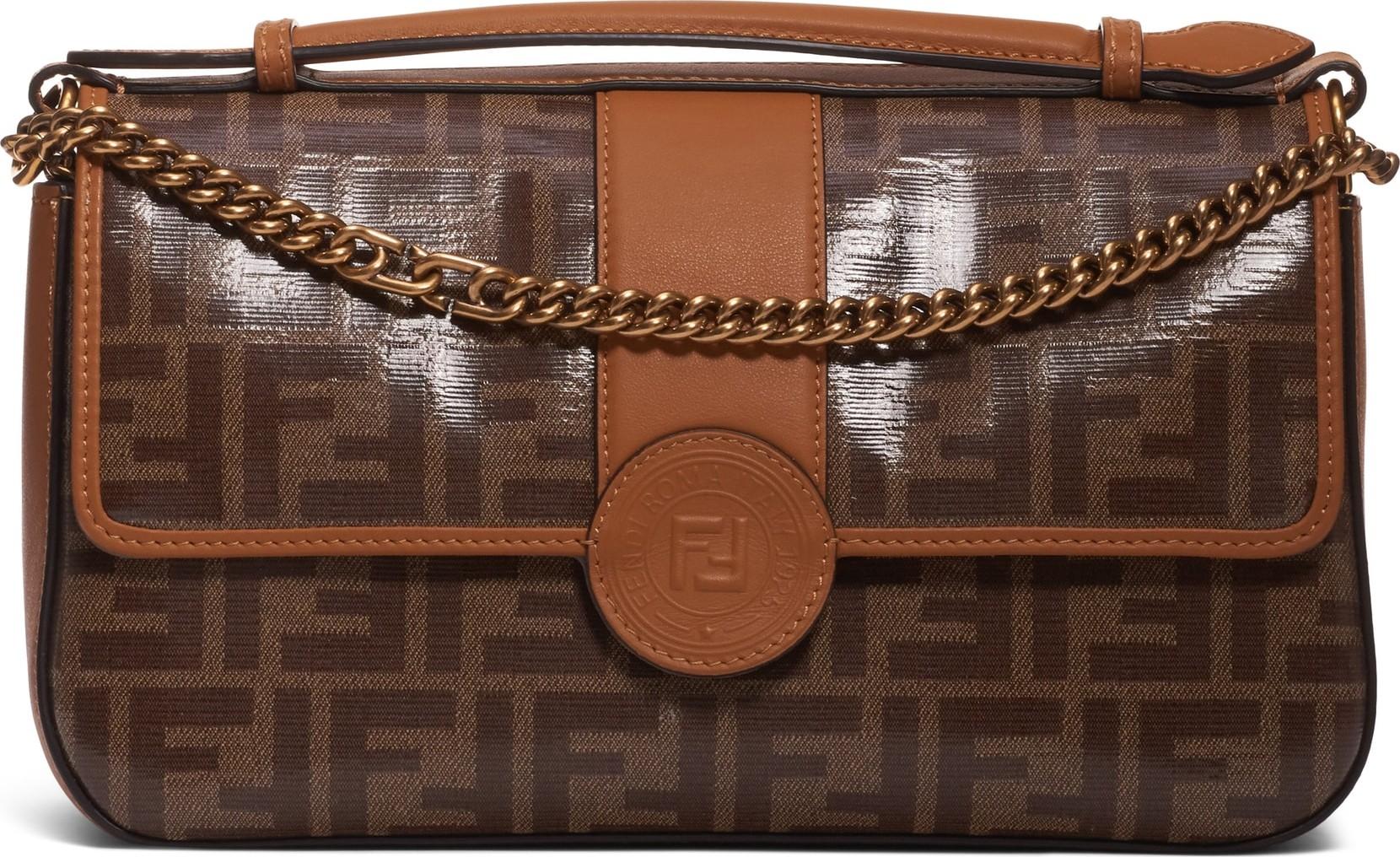 493539951aef Fendi Mini Logo Canvas Crossbody Bag - Mkt