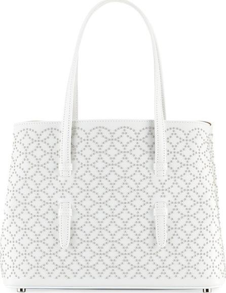 Alaïa Studded Mini Tote Bag, White