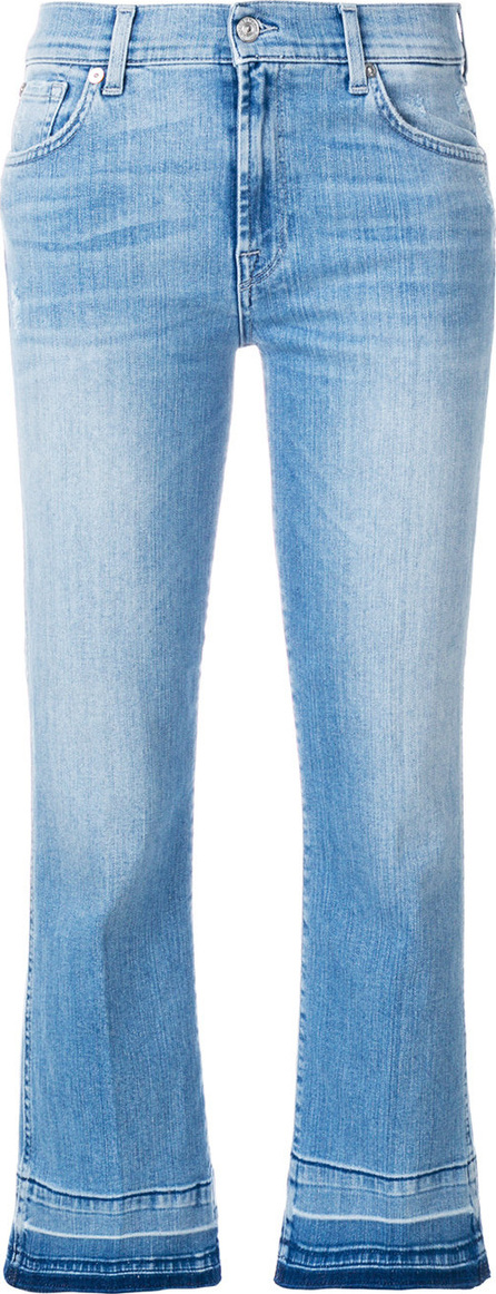 7 For All Mankind Illusion cropped jeans