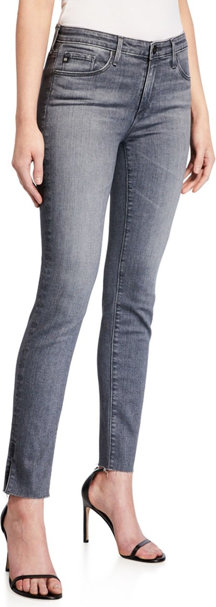 AG Jeans Prima Mid-Rise Straight-Leg Ankle Jeans