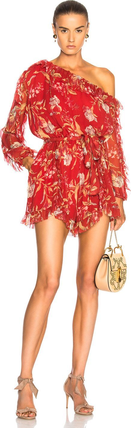 Zimmermann Corsair Iris Playsuit