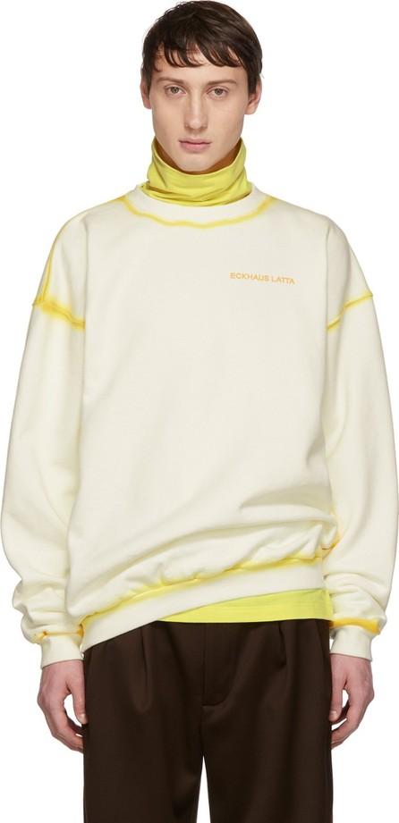 Eckhaus Latta Off-White Hand-Dyed Sweatshirt
