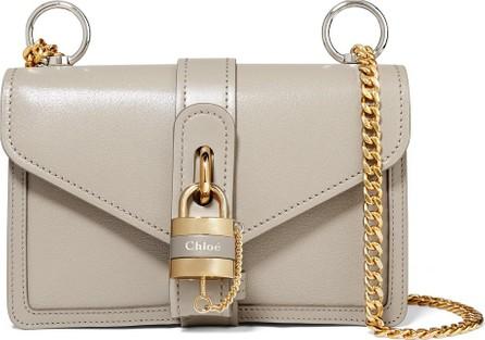 Chloe Aby leather shoulder bag