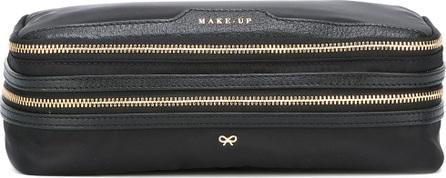 Anya Hindmarch double zip make up bag