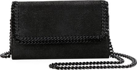 Stella McCartney Falabella Shaggy Deer Crossbody Bag (Black Hardware)