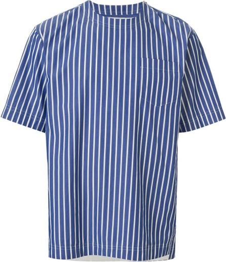 Sacai Striped tailored shirt