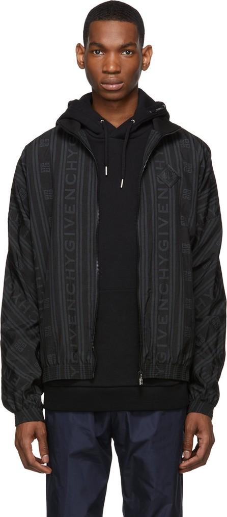 Givenchy Black 90's Logo Track Jacket