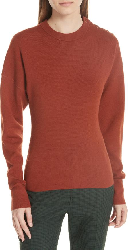 GREY Jason Wu Snap Shoulder Sweater