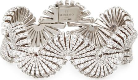 Miseno Ventaglio 18k White Gold Diamond Bracelet