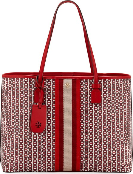 5a3744c5be34 Tory Burch Fleming Diamond-Quilted Swing-Pack Tote Bag - Brass ...